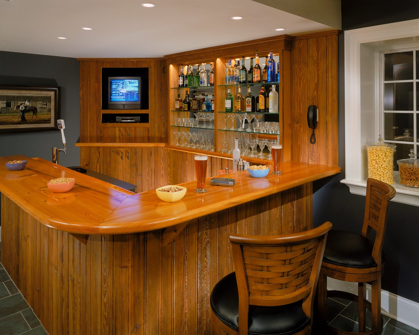 Sports Bar Design Ideas. Excellent Recently Home Bar Design Ideas ...
